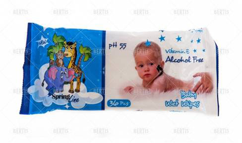 Cadoul revistei MAMI: servetele umede Baby Spring + hartie de impachetat + etichete pentru cadouri ~~ Decembrie 2012 ~~ Pret pachet: 7,90 lei