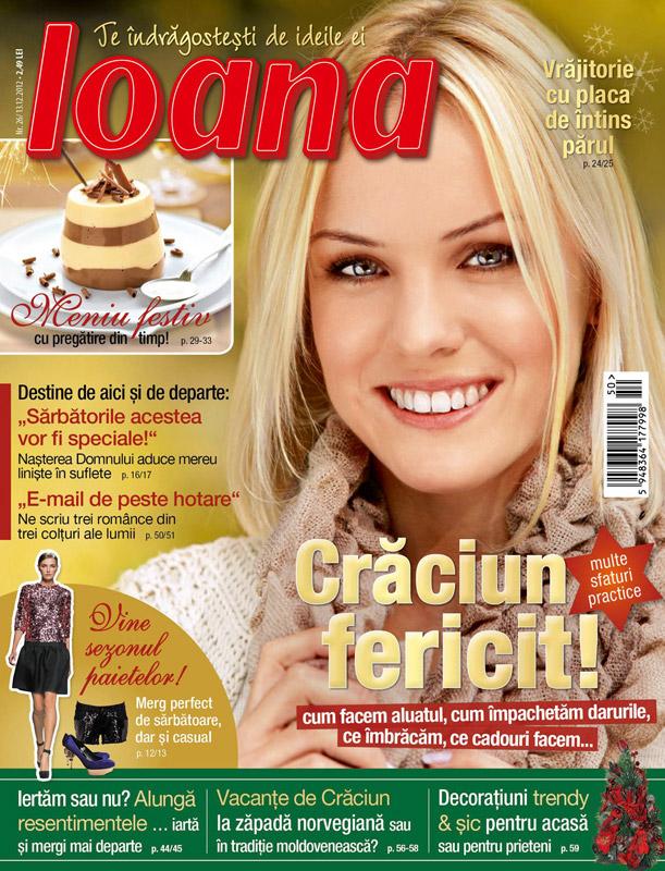 Revista Ioana ~~ Vine sezonul paietelor! ~~ 13 Decembrie 2012 (nr. 26)