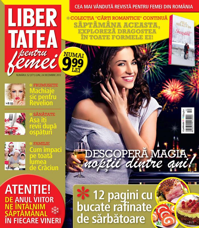 Libertatea pentru femei ~~ Descopera magia noptii dinte ani! ~~ 24 Decembrie 2012