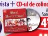 CD MERCI, MOS CRACIUN, cu Adela Sorescu si Atelierul ei de Muzica pentru Copii ~~ impreuna cu revista <u>Click pentru femei </u> din 14 Decembrie 2012 ~~ Pret: 5 lei