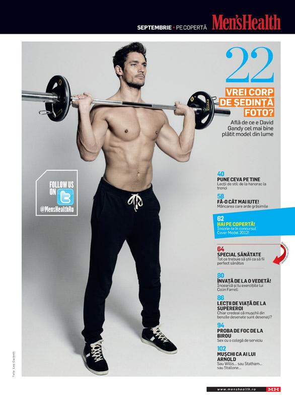 Men\'s Health Romania ~~ Cuprinsul editiei de Septembrie 2012