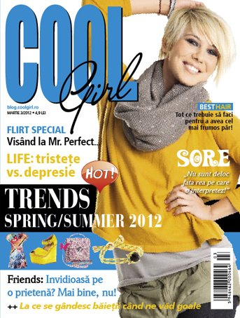 Cool Girl ~~ Coperta: Sora, din LaLa Band ~~ Martie 2012