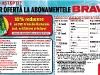Oferta de abonament prin talon + cadou pentru revista BRAVO, valabila in Ianuarie 2012