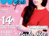 Cool Girl ~~ Cover girl: Carly Rae Jepsen ~~ Decembrie 2012