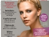 Psychologies Romania ~~ Cover girl: Charlize Theron ~~ Ianuarie 2013
