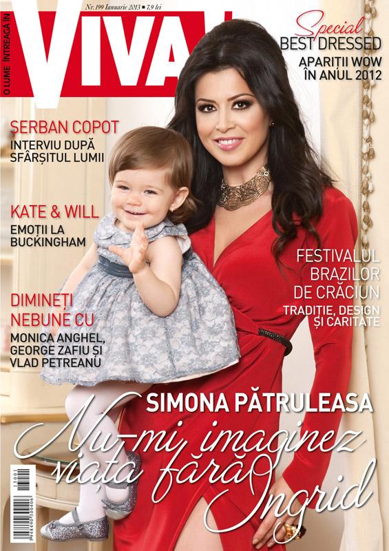 VIVA! ~~ Coperta: Simona Patruleasa si Igrid ~~ Ianuarie 2013