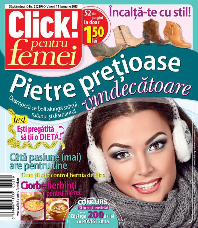 Click! pentru femei ~~ Ciorbe fierbinti pentru zile reci ~~ 11 Ianuarie 2013 (nr. 2)
