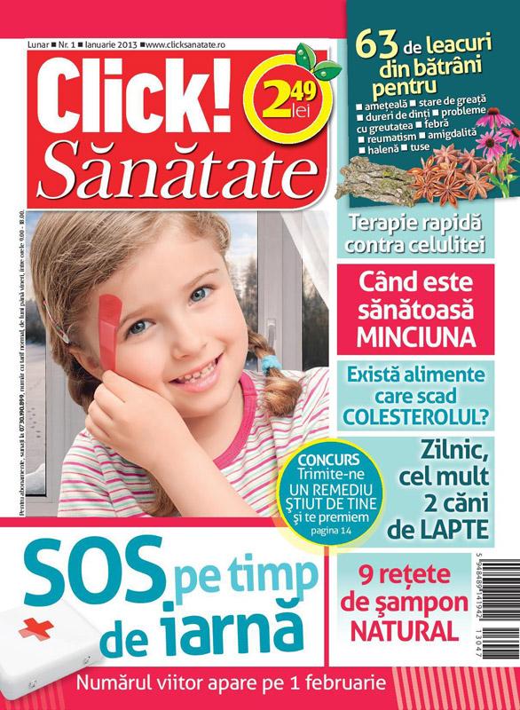 Click! Sanatate ~~ Cand este sanatoasa minciuna ~~ Ianuarie 2013