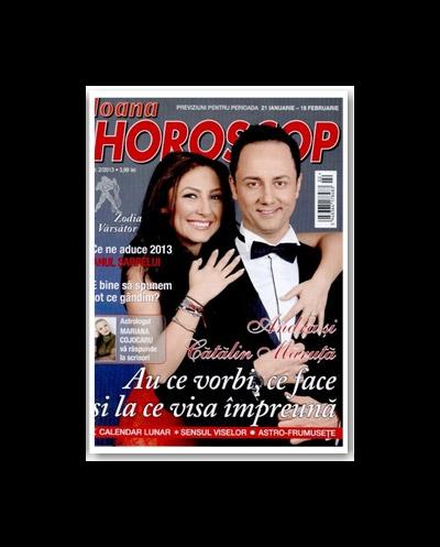 Ioana Horoscop ~~ Coperta: Andra si Catalin Maruta ~~ numarul 2/2013
