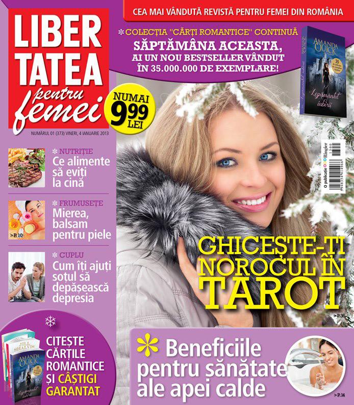 Libertatea pentru femei ~~ Cum iti ajuti sotul sa depaseasca depresia ~~ 4 Ianuarie 2013 (nr. 1)