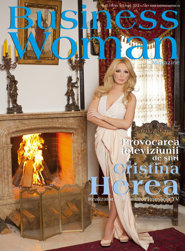 Business Woman Magazine ~~ Coperta: Cristina Herea ~~ Februarie 2013