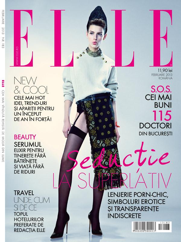 ELLE Romania ~~ Februarie 2013