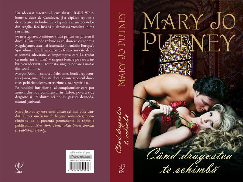 Cartea CAND DRAGOSTEA TE SCHIMBA, de Mary Jo Putney ~~ impreuna cu revista <u>Libertatea pentru femei</u> din 15 Feb 2013 ~~ Pret: 10 lei
