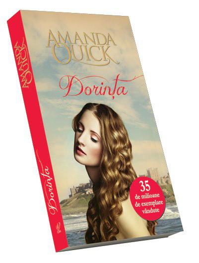 Cartea DORINTA, de Amanda Quick ~~ impreuna cu revista Libertatea pentru femei din 1 Feb 2013 ~~ Pret: 10 lei