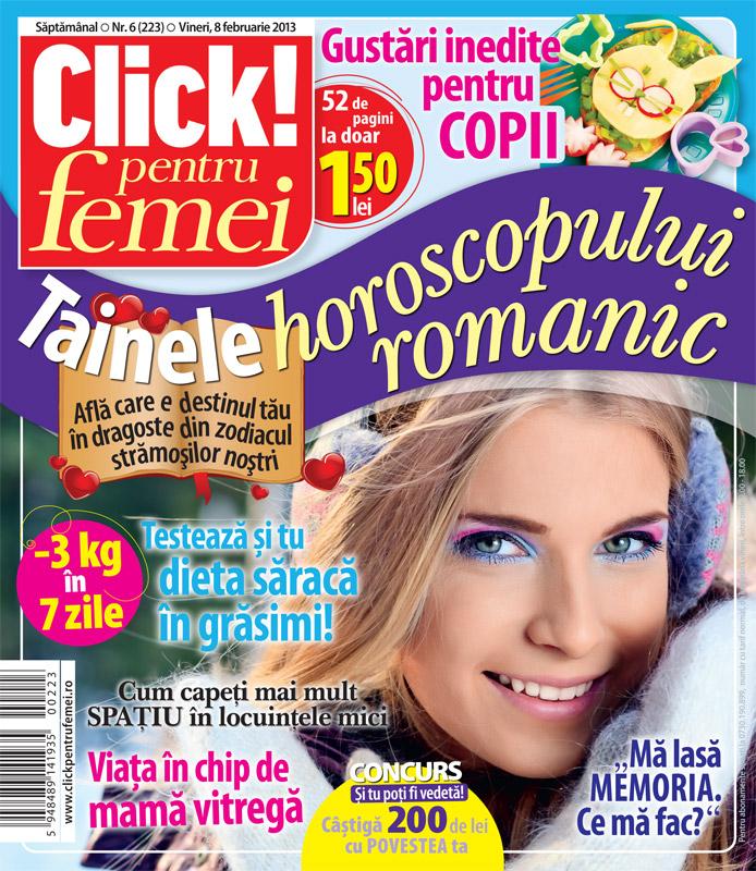Click! pentru femei ~~ Tainele horoscopului romantic ~~ 8 Februarie 2013