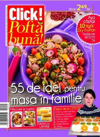 Click! Pofta buna! ~~ 55 de idei pentru masa de familie ~~ Februarie 2013