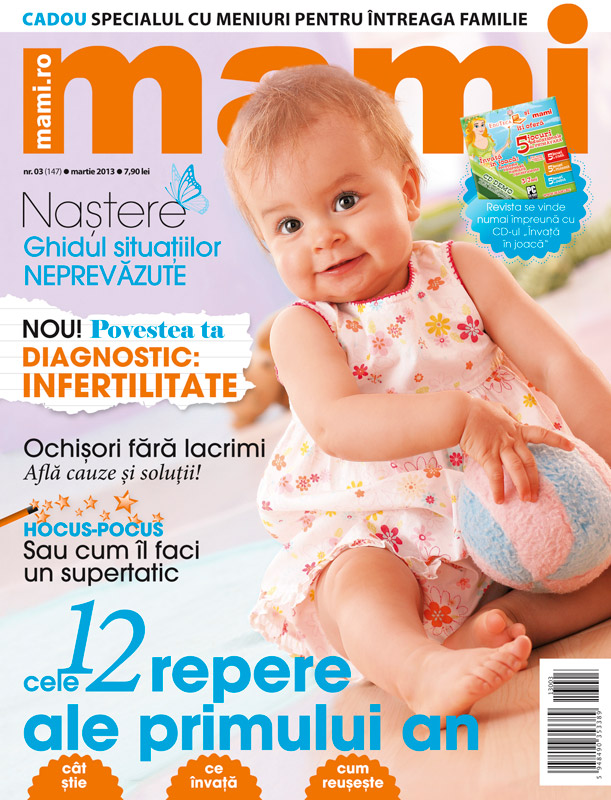Revista MAMI ~~ Cele 12 repere ale primului an ~~ Martie 2013