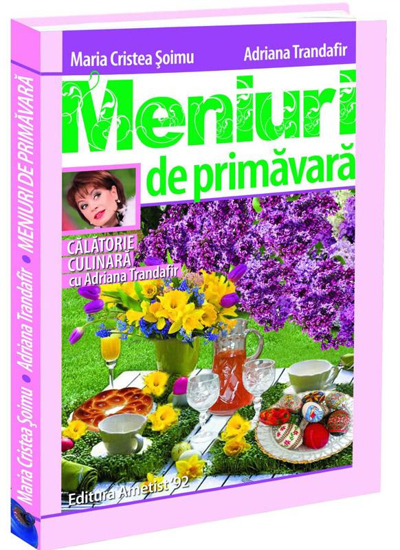 Cartea de bucate MENIURI DE PRIMAVARA ~~ impreuna cu revista Click! pentru femei din 29 Martie 2013 ~~ Pret: 10 lei