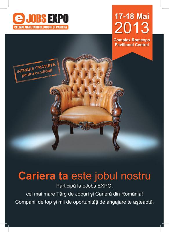 Promo Targ de Joburi eJobs ~~ bucuresti, 17-18 Mai 2013