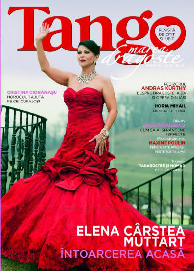 Tango ~~ Coperta: Elena Carstea ~~ Aprilie 2013