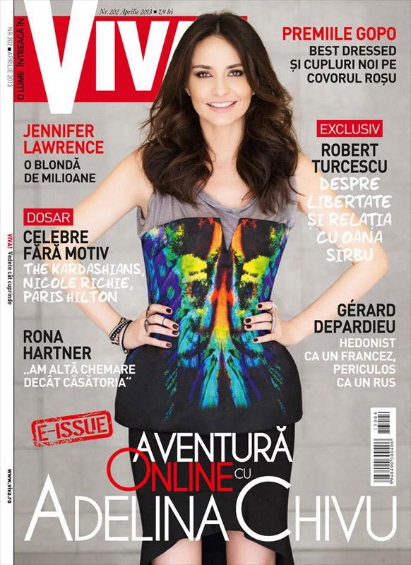 VIVA! ~~ Coperta: Adelina Chivu ~~ Aprilie 2013