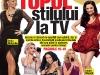 Story Romania ~~ Editia cu numarul 400 ~~ Cover story: Topul stilului la TV ~~ 12 Aprilie 2013