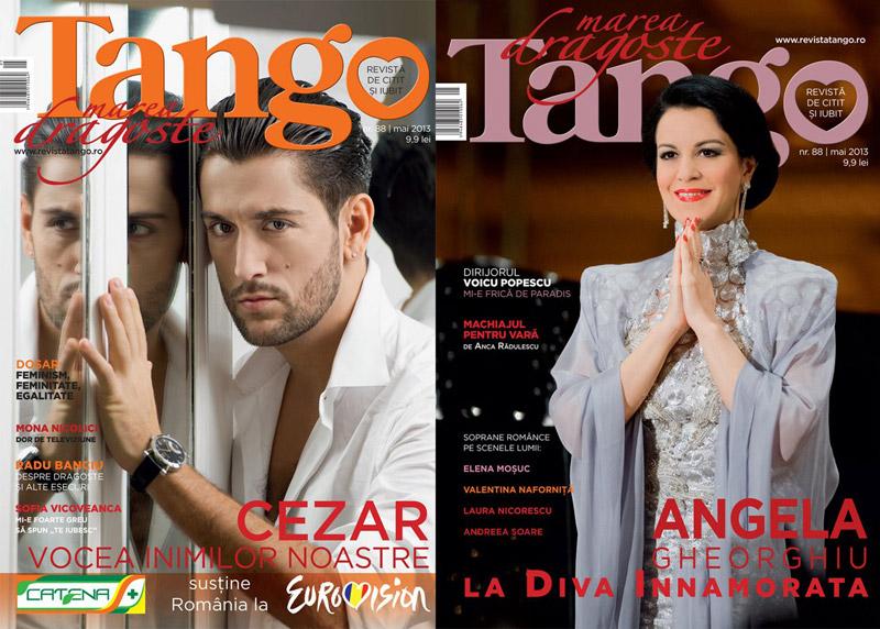 Tango ~~ Cezar Ouatu si Angela Gheorghiu ~~ Mai 2013