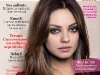 Psychologies Magazine Romania ~~ Cover girl: Mila Kunis ~~ Mai 2013