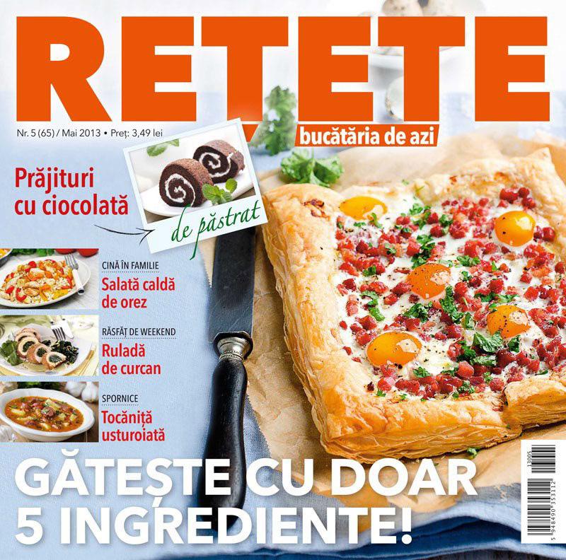 Bucataria de azi RETETE ~~ Geteste cu doar 5 ingrediente ~~ Mai 2013