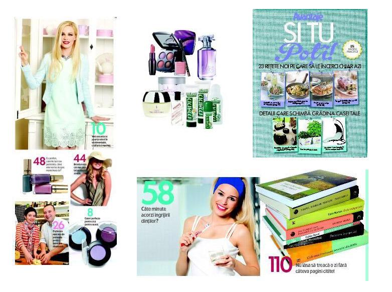 Promo pentru revista Avantaje, editia Iunie 2013