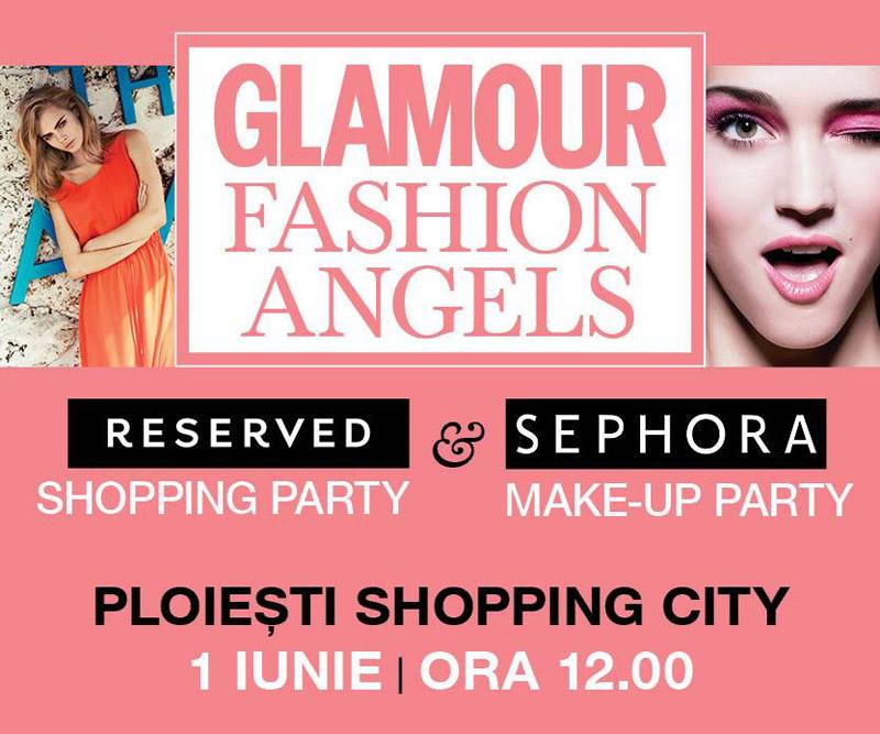 Eveniment GLAMOUR FASHION ANGELS ~~ Ploiesti, 1 Iunie 2013