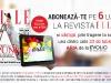 Oferta de abonament prin SMS pe 6 luni la revista ELLE Romania ~~ Iunie 2013