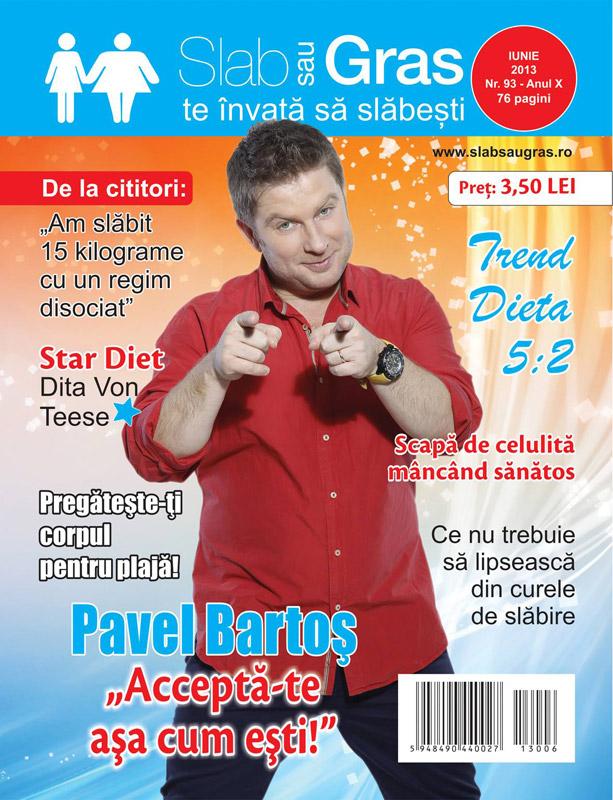 Slab sau gras ~~ Coperta: Pavel Bartos ~~ Iunie 2013