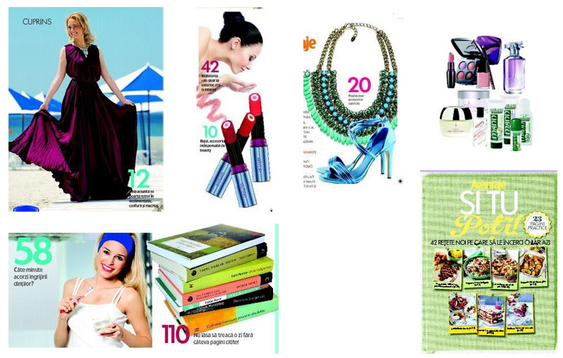 Promo la revista Avantaje, editia Iulie 2013