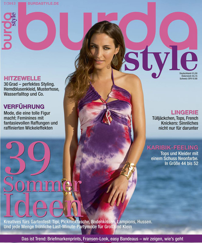 Revista Burda Style Germania ~~ Iulie 2013