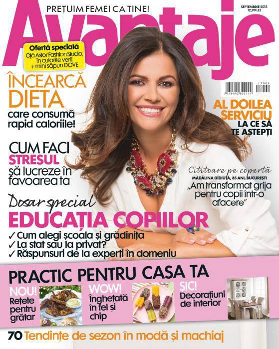 Revista Avantaje ~~ Dosar special: educatia copiilor ~~ Septembrie 2013