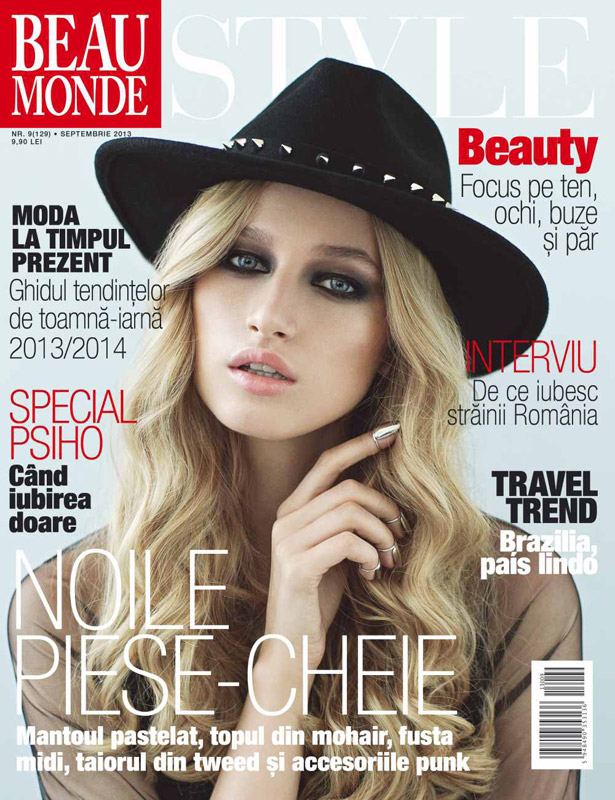 Revista Beau Monde Style ~~ Noile piese cheie ~~ Septembrie 2013