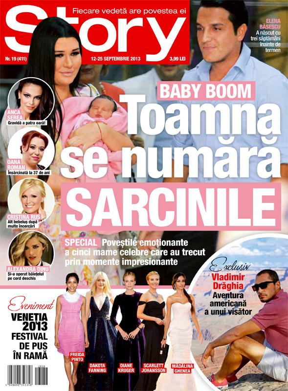 Story Romania ~~ Coverstory: Baby Boom. Toamna se numara sarcinile ~~ 12 Septembrie 2013
