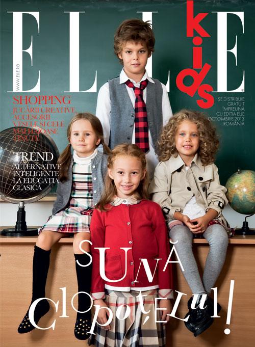 ELLE Kids Romania ~~ Suna Clopotelul! ~~ Octombrie 2013