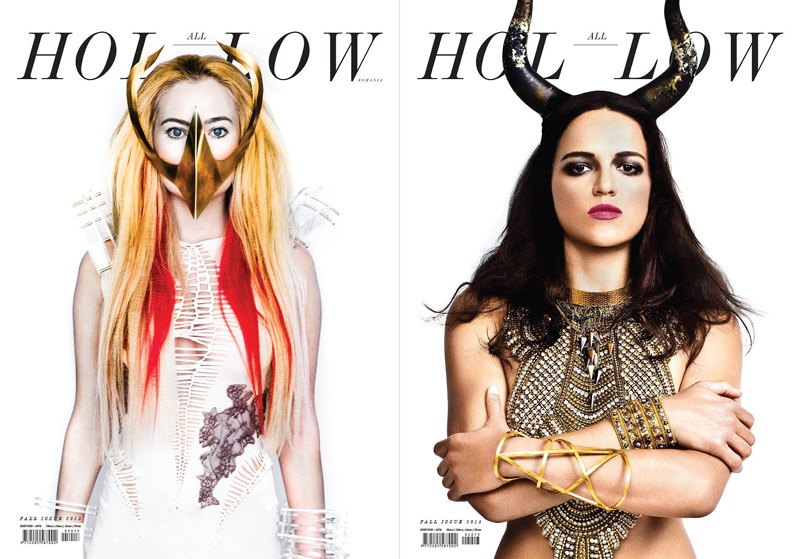All Hollow Magazine ~~ Cover girls: Laura Cosoi si Michelle Rodriguez ~~ Toamna 2013