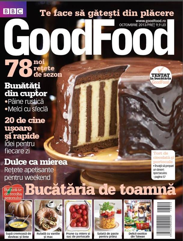 Good Food Romania ~~ Bucataria de toamna ~~ Octombrie 2013