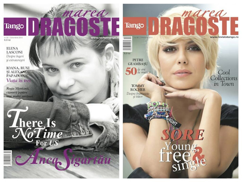 Tango Marea Dragoste ~~ Coperta: Sore Mihalache si Anca Sigartau ~~ Octombrie 2013