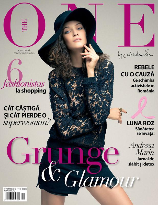 The One Magazine ~~ Coperta: Diana Moldovan ~~ Octombrie 2013