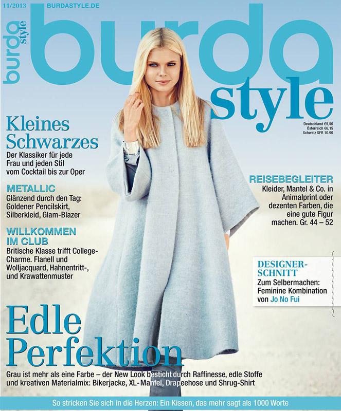 Burda Style Germania ~~ Noiembrie 2013