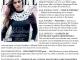 Promo pentru revista ELLE Romania, editia Noiembrie 2013
