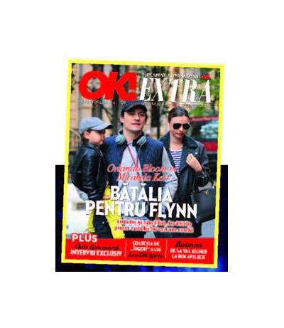 Suplimentul OK! Magazine ~~ Coperta: Orlando Bloom si Miranda Kerr ~~ 14 Noiembrie 2013