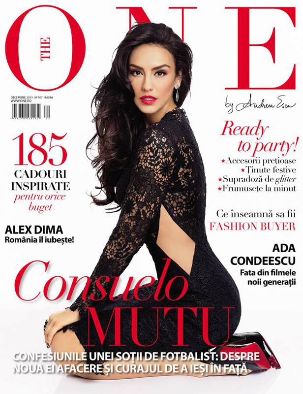 The One Magazine ~~ Coperta: Consuelo Mutu ~~ Decembrie 2013