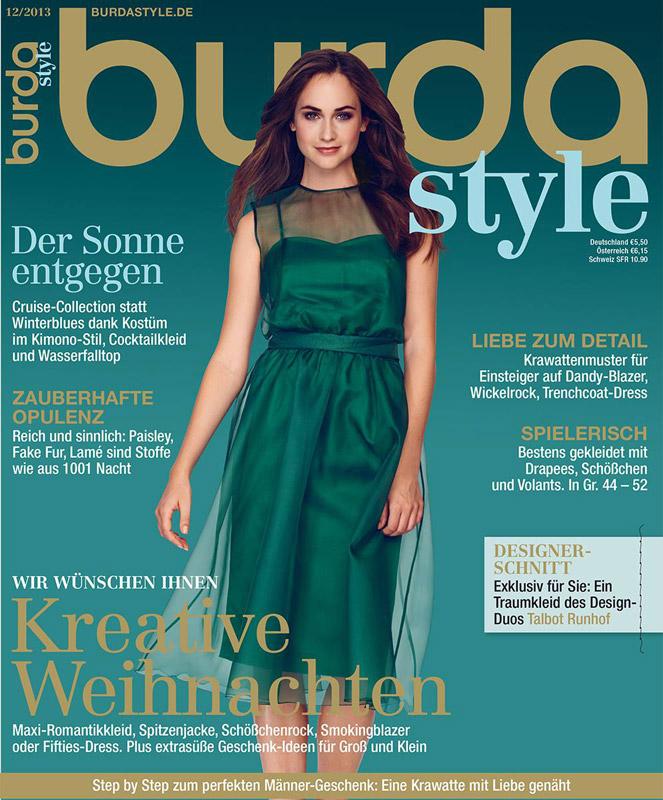 Burda Style Germania ~~ Decembrie 2013