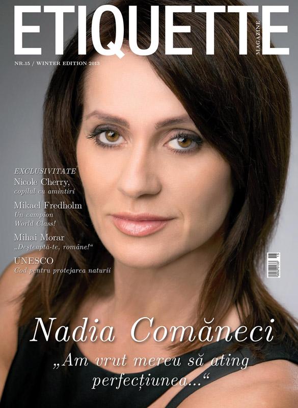 Etiquette Magazine ~~ Coperta: Nadia Comaneci ~~ Editia de iarna 2013
