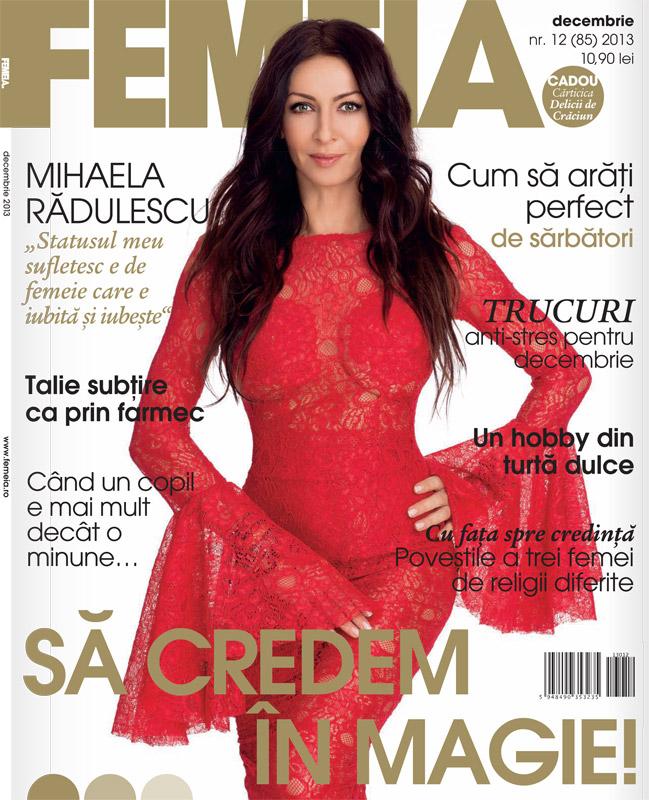FEMEIA. ~~ Coperta: Mihaela Radulescu ~~ Decembrie 2013